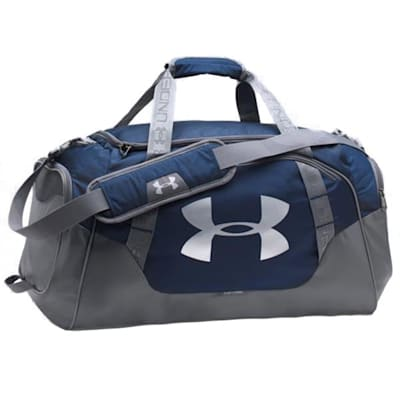 Navy/Graphite/Silver (Under Armour Undeniable Hockey Duffle 3.0 Small)