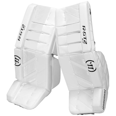 White/White (Warrior Ritual GT2 Goalie Leg Pads - Intermediate)