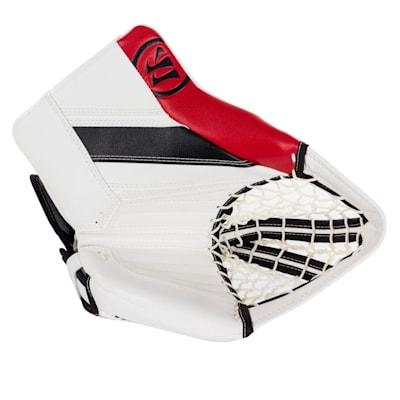 White/Black/Red (Warrior Ritual GT2 Goalie Glove - Intermediate)