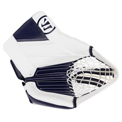White/Navy (Warrior Ritual GT2 Goalie Glove - Intermediate)