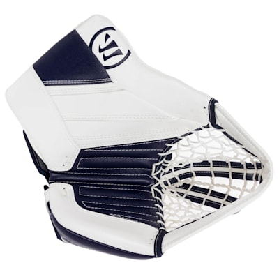 White/Navy (Warrior Ritual GT2 Goalie Glove - Senior)