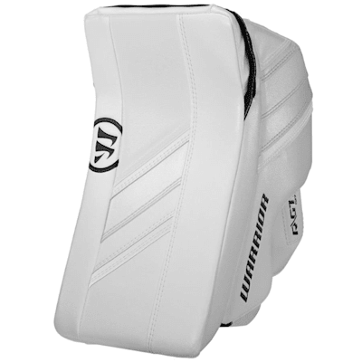 White/White (Warrior Ritual GT2 Goalie Blocker - Intermediate)