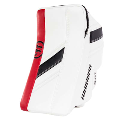 White/Black/Red (Warrior Ritual GT2 Goalie Blocker - Intermediate)