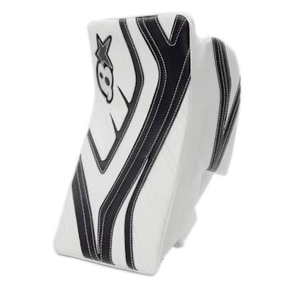 White/Navy (Brians GNETiK IV Goalie Blocker - Senior)