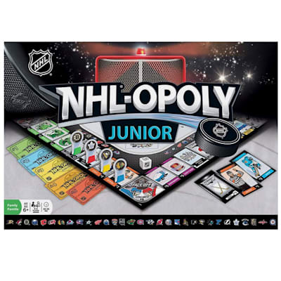 (MasterPieces NHL-Opoly Junior Board Game)