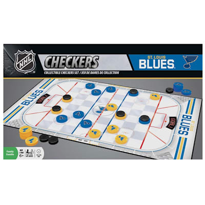 (MasterPieces NHL Checkers - St. Louis Blues)