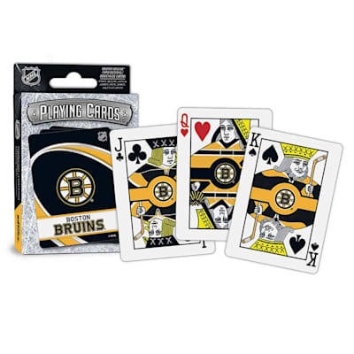 (MasterPieces NHL Playing Cards - Boston Bruins)