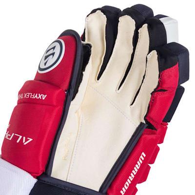 (Warrior Alpha Pro Hockey Gloves - Junior)