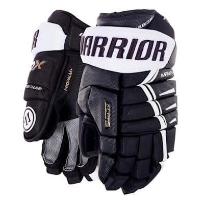 Black/White (Warrior Alpha DX Hockey Gloves - Senior)