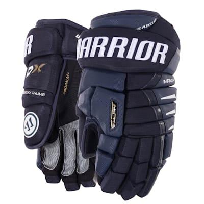 Navy (Warrior Alpha DX Hockey Gloves - Senior)
