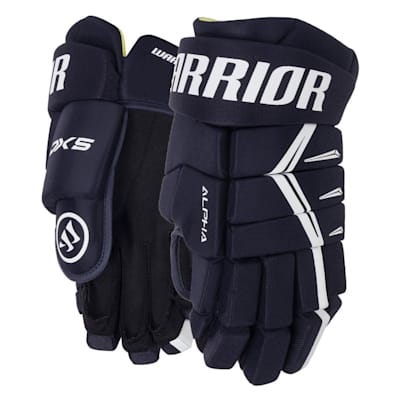 Navy (Warrior Alpha DX5 Hockey Gloves - Junior)