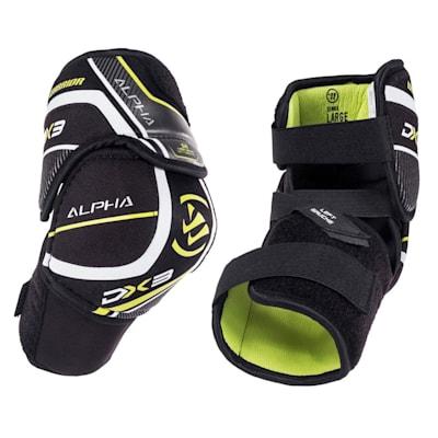(Warrior Alpha DX3 Hockey Elbow Pads - Junior)