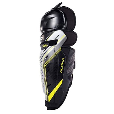 (Warrior Alpha DX Pro Hockey Shin Guards - Junior)