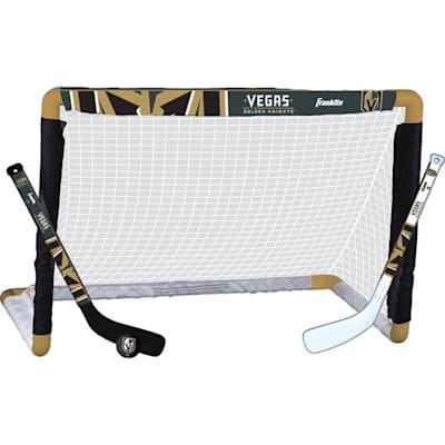 (Franklin NHL Team Mini Hockey Goal Set - Vegas Golden Knights)