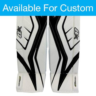 (Brians Custom GNETIK IV Goalie Leg Pads - Senior)