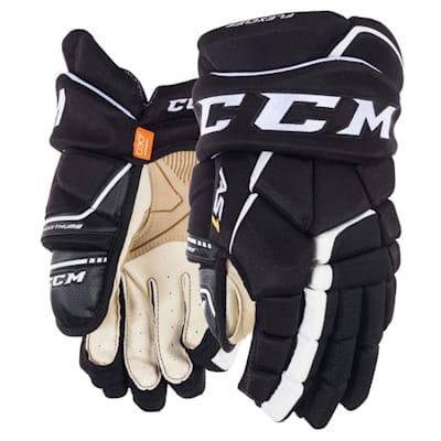 (CCM Super Tacks AS1 Hockey Gloves - Junior)