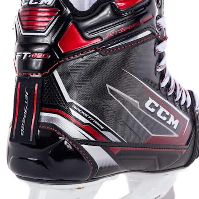 (CCM JetSpeed FT480 Ice Hockey Goalie Skates - Junior)
