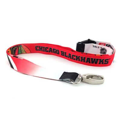 (Chicago Blackhawks Sublimated Lanyard)