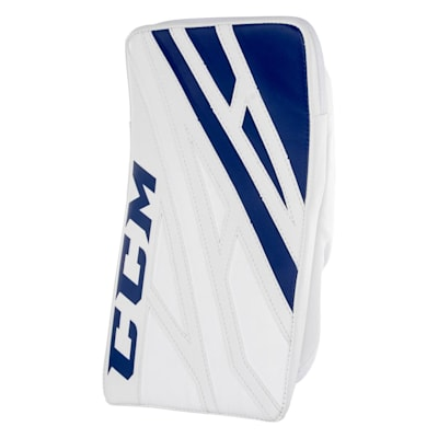 White/Royal (CCM Extreme Flex 4.5 Goalie Blocker - Junior)