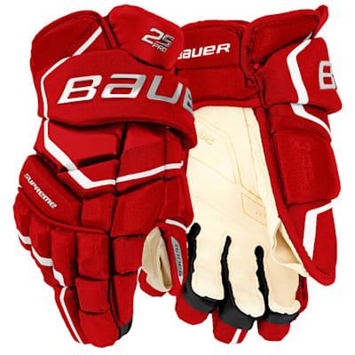 (Bauer Supreme 2S Pro Hockey Gloves - Junior)