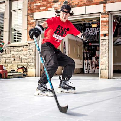 (HockeyShot Synthetic Ice Revolution Tiles - 10 Pack)
