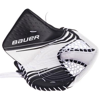 White/Black (Bauer Vapor 2X Goalie Catch Glove - Senior)