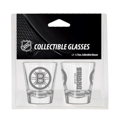 Boston Bruins (2oz NHL Shot Glass 2-Pack - Boston Bruins)