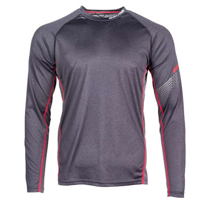 (Bauer S19 Essential Long Sleeve Top - Youth)