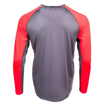 Back (Bauer S19 Pro Long Sleeve Base Layer Top - Youth)
