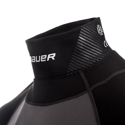 (Bauer S19 Long Sleeve Neck Protector Top - Youth)