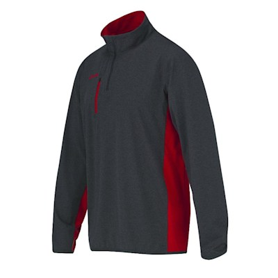 Front (CCM Quarter Zip Pullover Tech Top - Youth)
