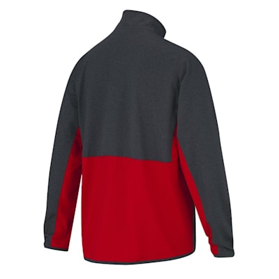 Back (CCM Quarter Zip Pullover Tech Top - Youth)