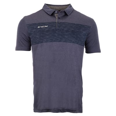 (CCM Heathered Polo Shirt - Adult)