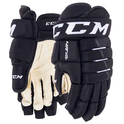 Black (CCM Tacks 4R Lite Pro Hockey Gloves - Junior)