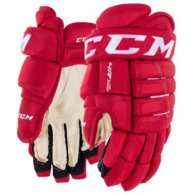 Red (CCM Tacks 4R Lite Pro Hockey Gloves - Senior)