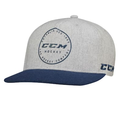 (CCM Academy Flat Brim Snapback Cap - Adult)