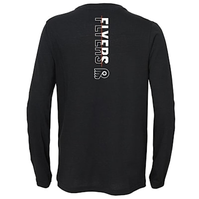 (Adidas Deliver A Hit Long Sleeve Tee - Philadelphia Flyers - Youth)
