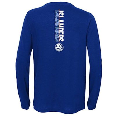 (Adidas Deliver A Hit Long Sleeve Tee - New York Islanders - Youth)