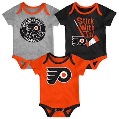 (Outerstuff Philadelphia Flyers Cuddle and Play 3-Pack Set - Infant)