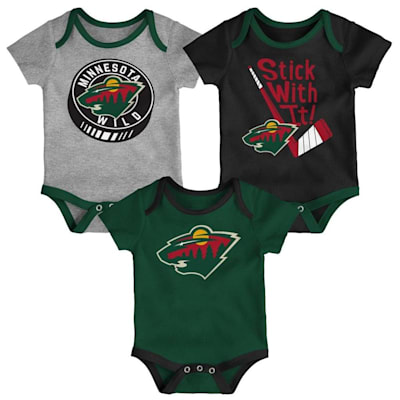 (Adidas Minnesota Wild Cuddle and Play 3-Pack Set - Infant)