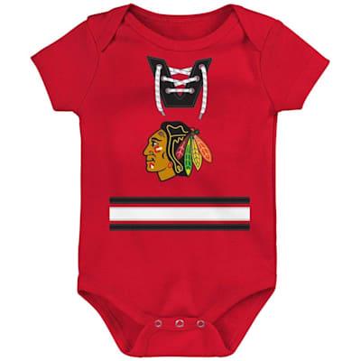 (Outerstuff Hockey Pro Onesie Chicago Blackhawks - Infant)