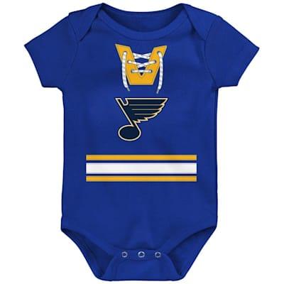 (Adidas Hockey Pro Onesie St. Louis Blues - Newborn)