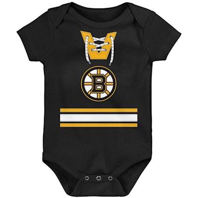 (Outerstuff Hockey Pro Onesie - Boston Bruins - Newborn)