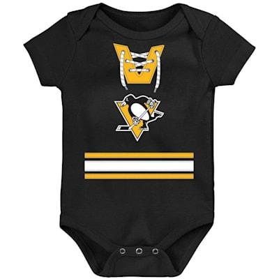 (Adidas Hockey Pro Onesie Pittsburgh Penguins - Newborn)
