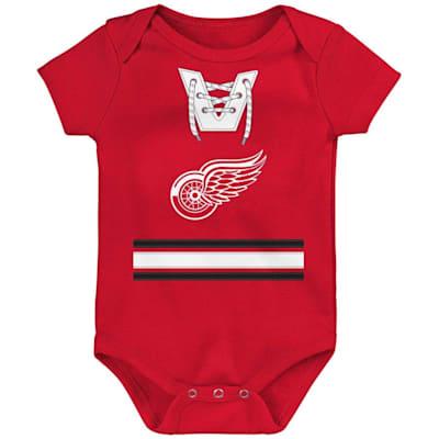 (Adidas Hockey Pro Onesie Detroit Red Wings - Infant)