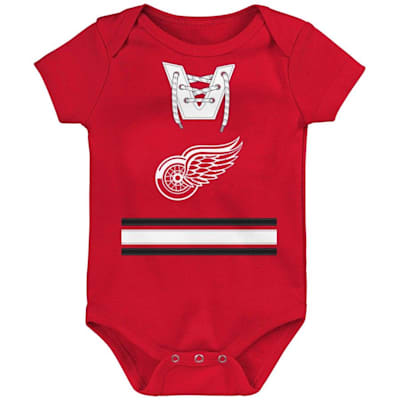 (Adidas Hockey Pro Onesie Detroit Red Wings - Newborn)