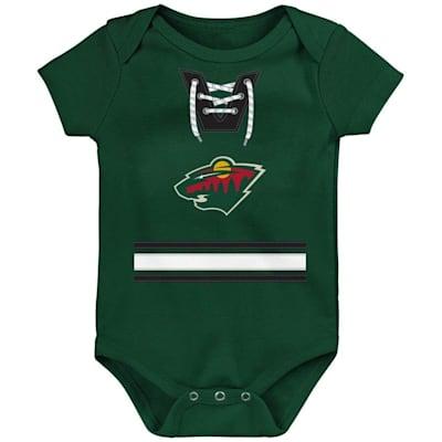 (Outerstuff Hockey Pro Onesie Minnesota Wild - Newborn)