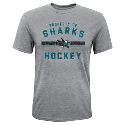 (Adidas Property of Tee - San Jose Sharks - Youth)