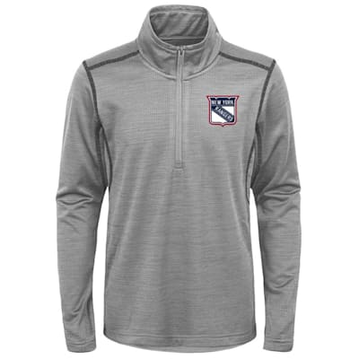 (Adidas NY Rangers Back to the Arena 1/4 Zip - Youth)