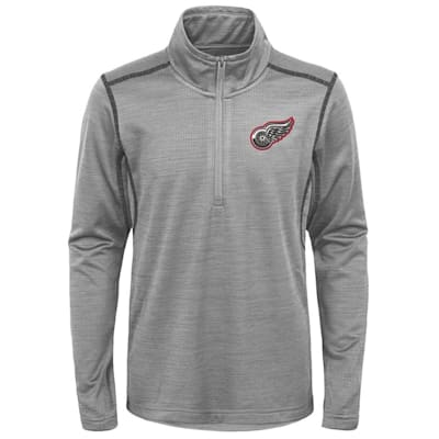 (Adidas Detroit Red Wings Back to the Arena 1/4 Zip - Youth)